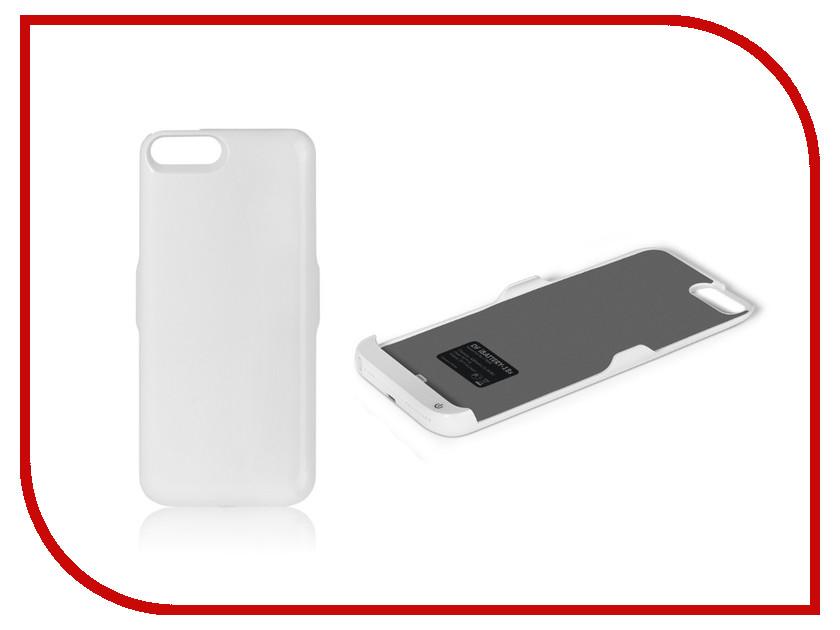 Фото Аксессуар Чехол-аккумулятор DF iBattery-18s для APPLE iPhone 6 Plus / 6S Plus / 7 Plus / 8 Plus 4200mAh White чехол аккумулятор df ibattery 14s для iphone 6 6s 7 розовое золото