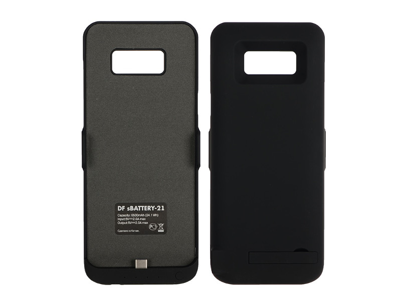 Чехол-аккумулятор DF для Samsung Galaxy Plus 6500mAh sBattery-21 Black