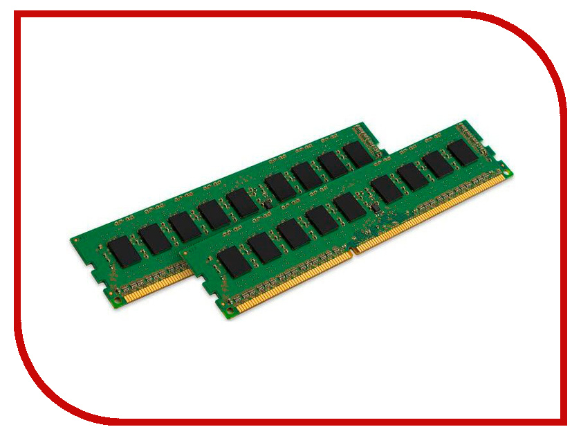 Модуль памяти Kingston DDR3L DIMM 1600MHz PC3-12800 CL11 - 8Gb KIT (2x4Gb) KVR16LN11K2/8