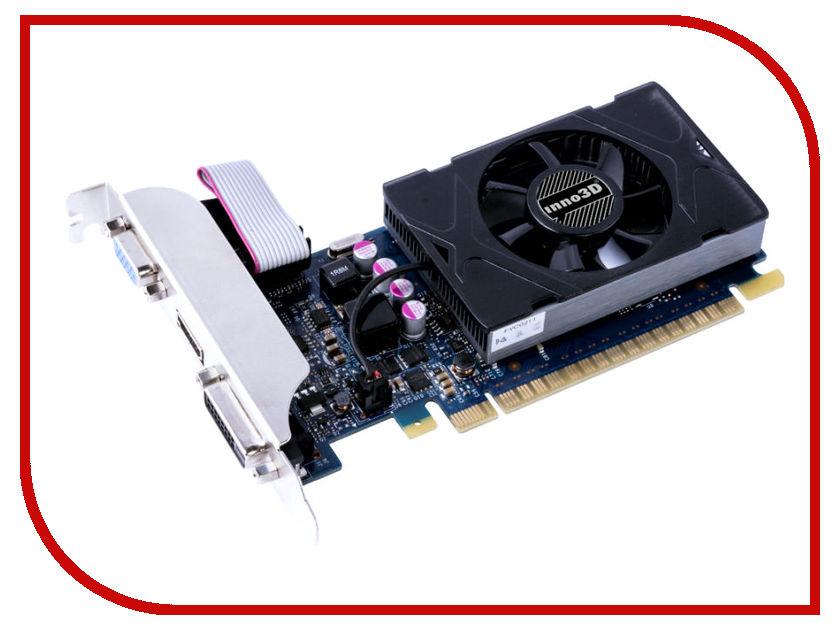 Видеокарты N730-3SDV-D5BX  Видеокарта Inno3D GeForce GT 730 LP 902Mhz PCI-E 2.0 1024Mb 5000Mhz 64 bit DVI HDMI HDCP N730-3SDV-D5BX