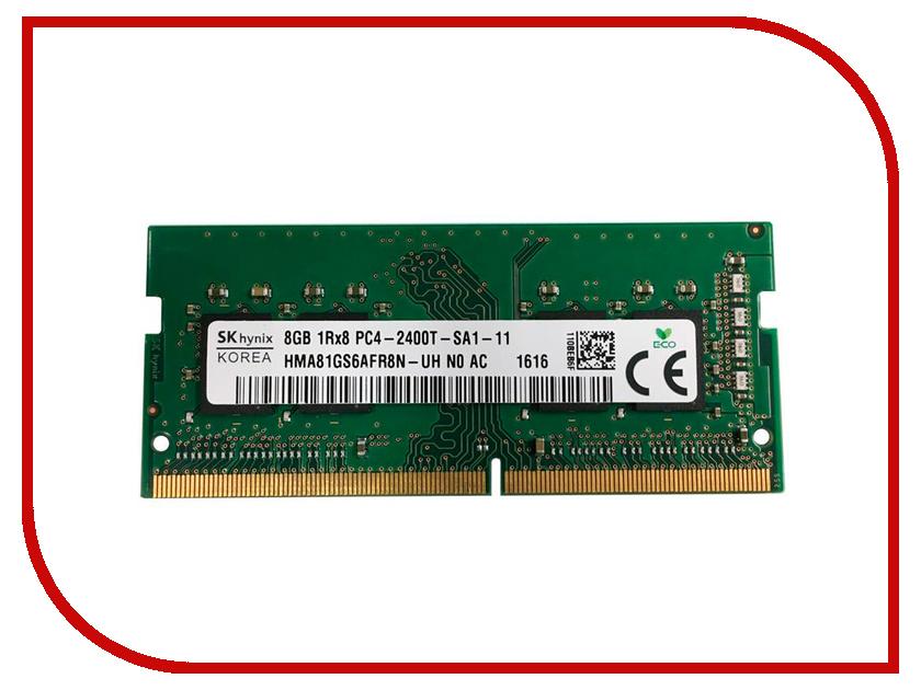 Zakazat.ru: Модуль памяти Hynix DDR4 SO-DIMM 2400MHz PC4 -22400 CL17 - 8Gb HMA81GS6AFR8N-UHN0