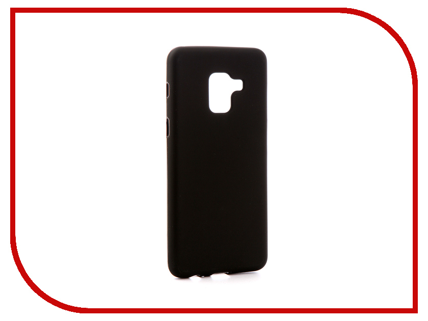 Аксессуар Чехол для Samsung Galaxy A8 2018 A530 Zibelino Soft Matte Black ZSM-SAM-A530-BLK