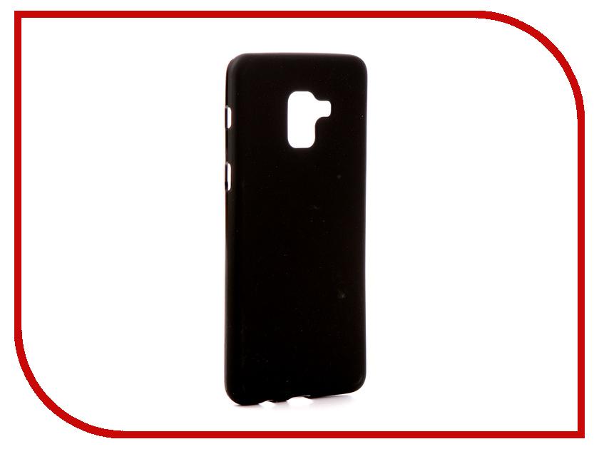 Аксессуар Чехол Samsung Galaxy A8 Plus 2018 A730 Zibelino Soft Matte Black ZSM-SAM-A730-BLK аксессуар чехол samsung galaxy tab a 10 1 t580 t585 zibelino classico black zcl sam t580 blk