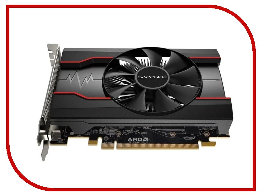 Видеокарта Sapphire Radeon RX 550 1071Mhz PCI-E 3.0 2048Mb 6000Mhz 128 bit DVI DP HDMI HDCP 11268-16-20G