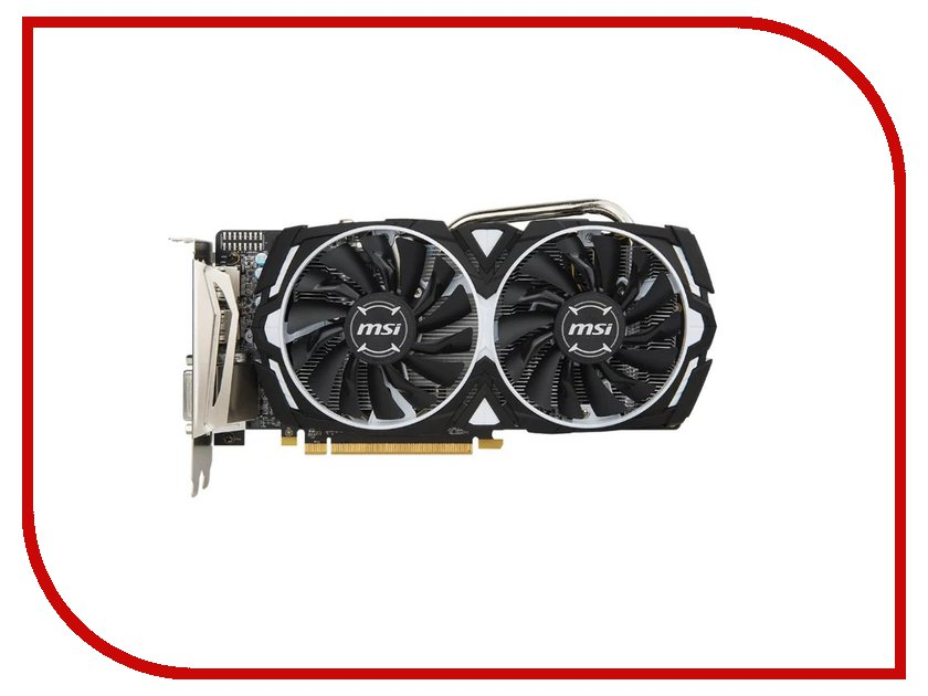 цены на Видеокарта MSI Radeon RX 570 1268Mhz PCI-E 3.0 8192Mb 7000Mhz 256 bit DVI DP HDMI HDCP RX 570 ARMOR 8G OC