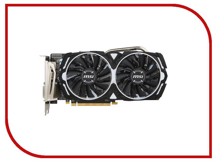 Видеокарта MSI Radeon RX 570 1268Mhz PCI-E 3.0 8192Mb 7000Mhz 256 bit DVI DP HDMI HDCP RX 570 ARMOR 8G OC видеокарта asus amd radeon rx 580 1360mhz 4096mb 7000mhz 256 bit dvi hdmix2 hdcp dual rx580 o4g