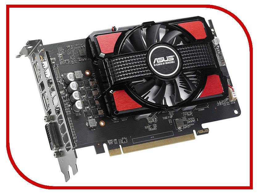 Видеокарты RX550-2G  Видеокарта ASUS Radeon RX 550 1183Mhz PCI-E 3.0 2048Mb 7000Mhz 128 bit DVI DP HDMI HDCP RX550-2G