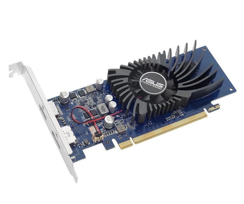 Видеокарта ASUS GeForce GT 1030 1228Mhz PCI-E 3.0 2048Mb 6008Mhz 64 bit DVI DP HDMI HDCP GT1030-2G-BRK цены