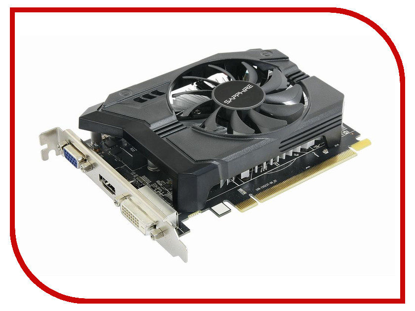Видеокарта Sapphire Radeon R7 250 1000Mhz PCI-E 3.0 2048Mb 1800Mhz 128 bit HDMI HDCP 11215-01-20G