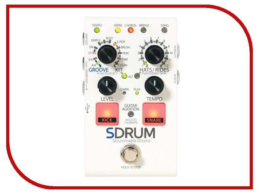 Педаль Digitech SDRUM Strummable Drums