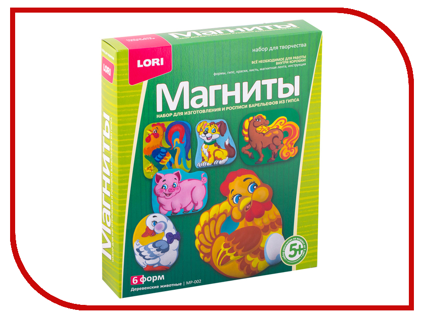 Набор Lori Деревенские животные МР-002