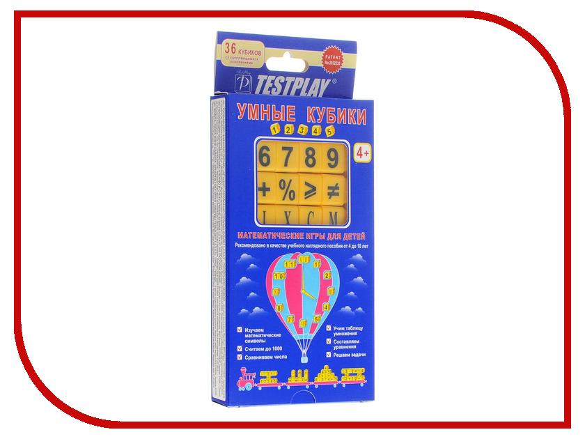 Настольная игра Testplay Умные кубики 1, 2, 3, 4, 5 Т-0282 usa cvd znse co2 laser focus lens diameter 25mm 25 4mm fl 38 1 127mm 1 5 2 2 5 3 4 5