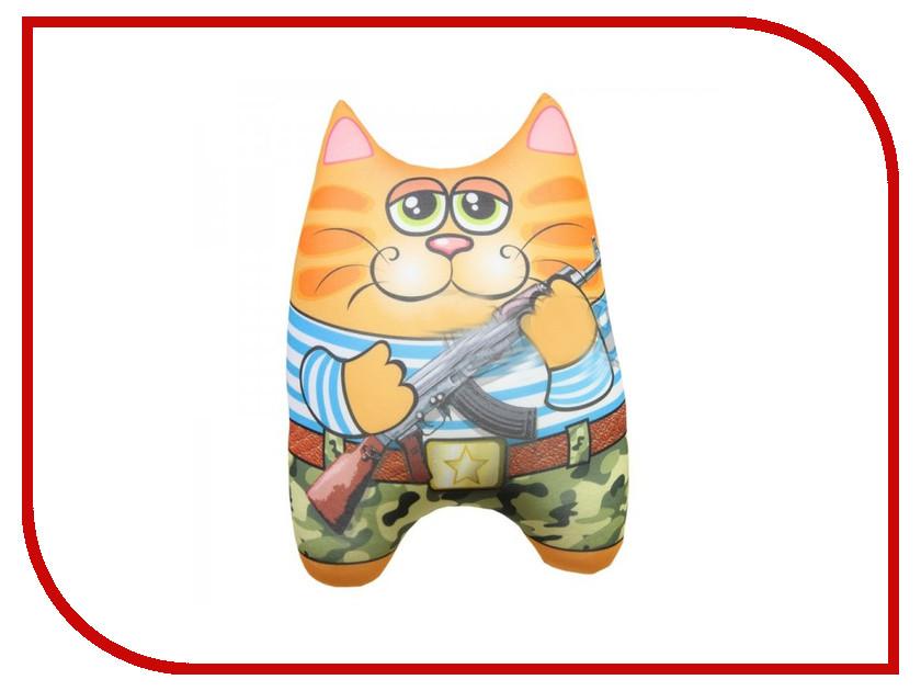 Игрушка антистресс Штучки к которым тянутся ручки Кот спасатель Солдат 15асин15ив-1 оранжевый кот подушка игрушка антистресс кот спортсмен