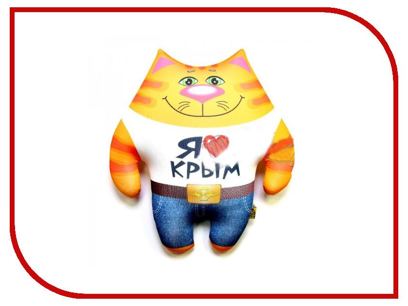 Игрушка антистресс Штучки к которым тянутся ручки Кот ВВ Люблю Крым 15аси24ив-4 оранжевый кот подушка игрушка антистресс кот спортсмен