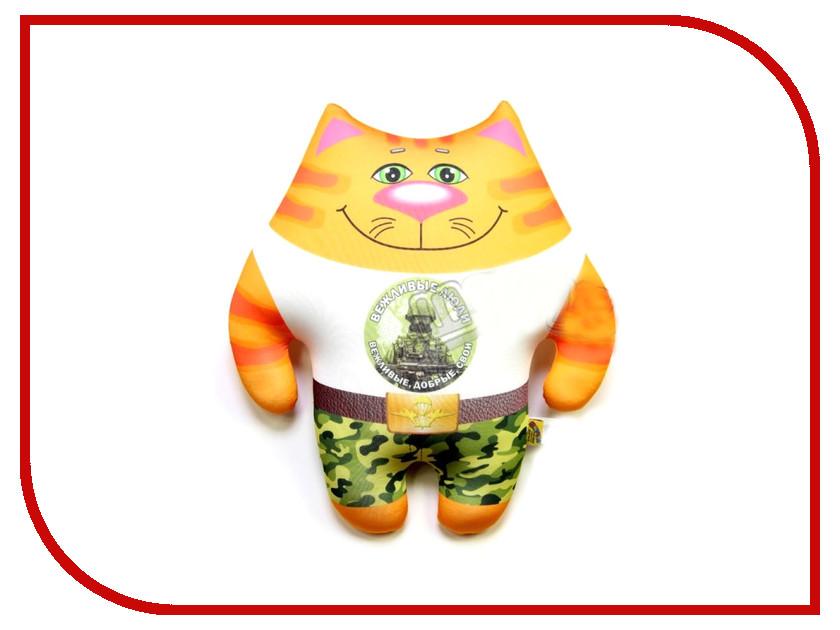 Игрушка антистресс Штучки к которым тянутся ручки Кот ВВ Вежливые люди 15аси24ив-5 оранжевый кот подушка игрушка антистресс кот спортсмен
