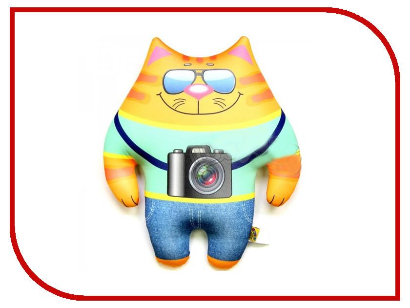 Игрушка антистресс Штучки к которым тянутся ручки Кот Профи Фотограф 15аси26мив-4 оранжевый кот подушка игрушка антистресс кот спортсмен