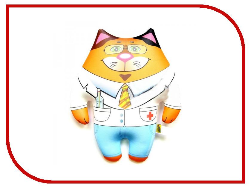 Игрушка антистресс Штучки к которым тянутся ручки Кот Профи Доктор 15аси26мив-5 оранжевый кот подушка игрушка антистресс кот спортсмен