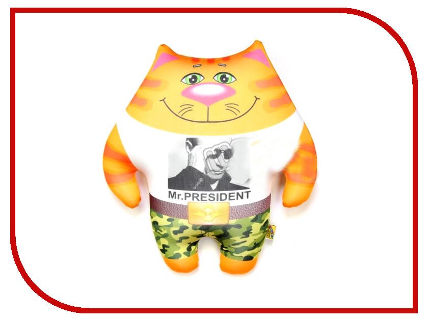 Игрушка антистресс Штучки к которым тянутся ручки Кот ВВ Mr. President 15аси24мив-6 оранжевый кот подушка игрушка антистресс кот спортсмен