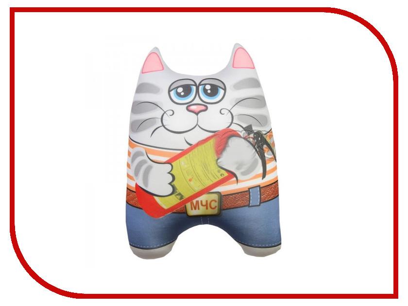 Игрушка антистресс Штучки к которым тянутся ручки Кот спасатель МЧС 15асин15ив-3 оранжевый кот подушка игрушка антистресс кот спортсмен