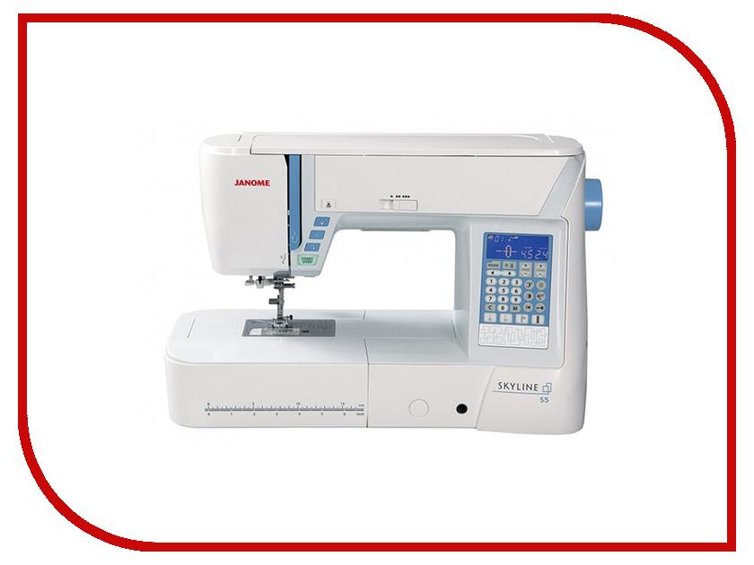 Швейная машинка Janome Skyline S5 White цена
