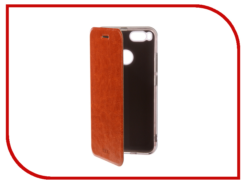 Аксессуар Чехол для Xiaomi Mi5x/A1 Mofi Vintage Brown 15730 аксессуар чехол книжка для xiaomi redmi 5 plus mofi vintage brown