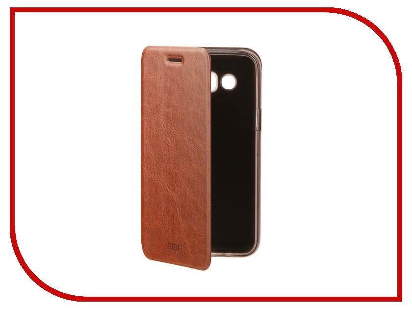 Аксессуар Чехол для Samsung Galaxy J5 2016 Mofi Vintage Brown 15805 аксессуар чехол nokia 6 mofi vintage black 15546