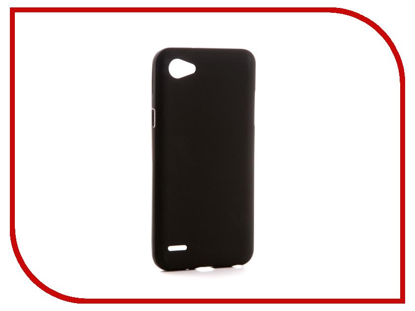 Аксессуар Чехол для LG Q6A M700 Svekla Silicone Black SV-LGQ6-MBL