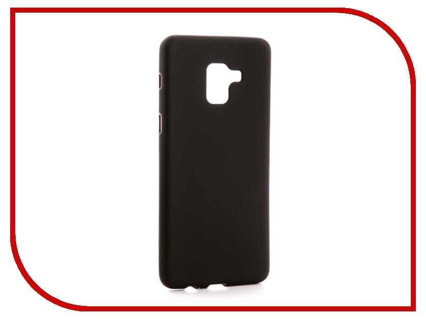Аксессуар Чехол для Samsung Galaxy A8 Plus 2018 A730F Svekla Silicone Black SV-SGA730F-MBL аксессуар чехол для sony xperia l1 g3311 g3312 svekla silicone black sv sog3311 mbl