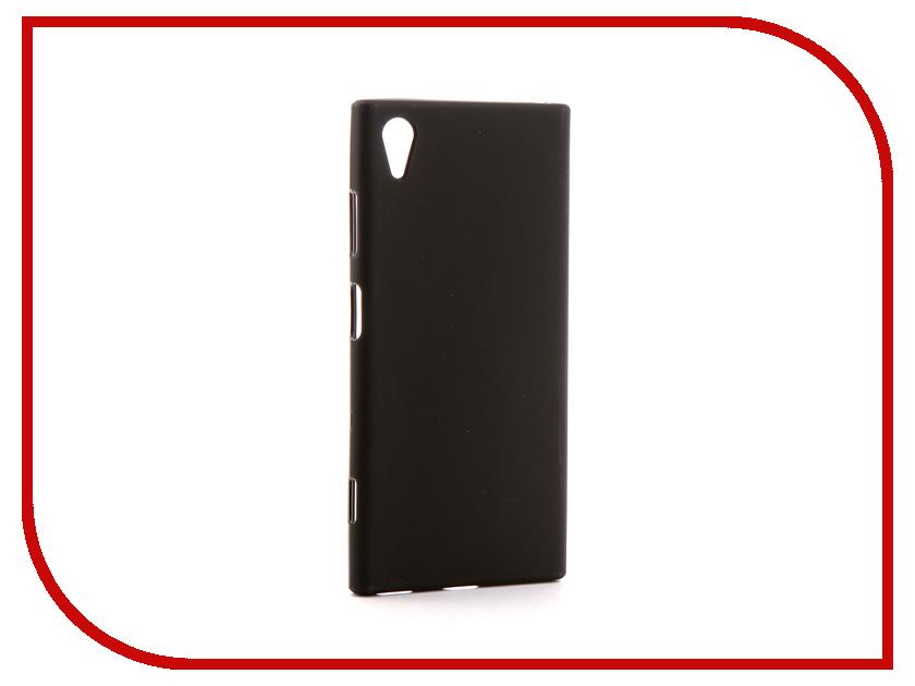 Аксессуар Чехол Sony Xperia XA1 Plus G3421/G3423/G3126 Svekla Silicone Black SV-SOG3421-MBL цена и фото