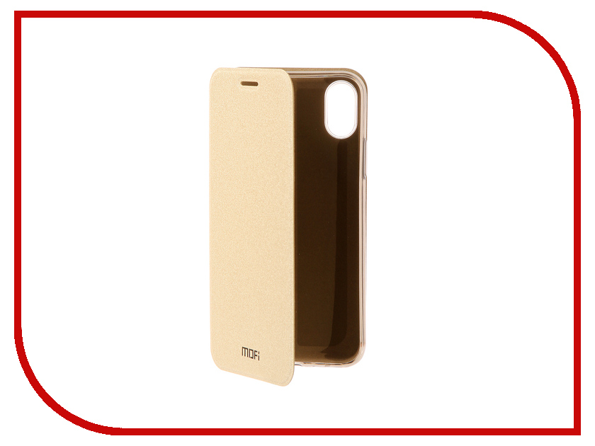 Аксессуар Чехол Mofi для APPLE iPhone X Shining Gold 15796