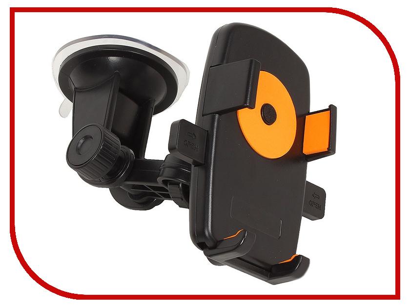 Держатель Perfeo PH-502-2 Black-Orange держатель perfeo ph 520 black grey