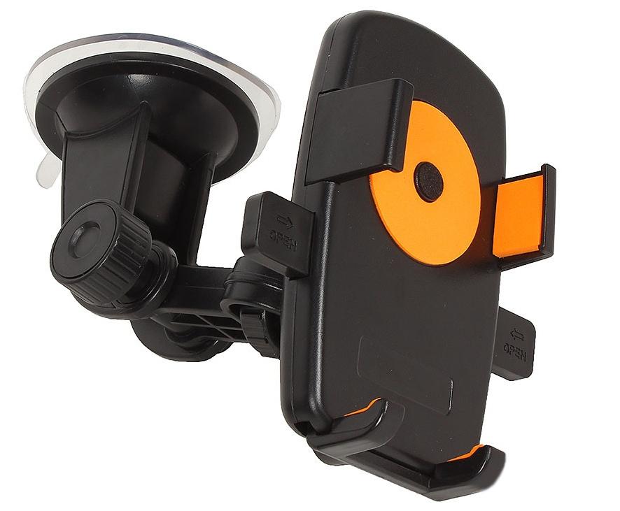 Держатель Perfeo PH-502-2 Black-Orange