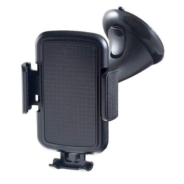 Держатель Perfeo PH-509 Black автомобильный держатель perfeo ph 520 до 6 5 на стекло черный серый