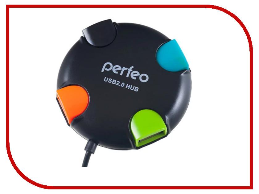 Хаб USB Perfeo PF-HYD-6098H Black