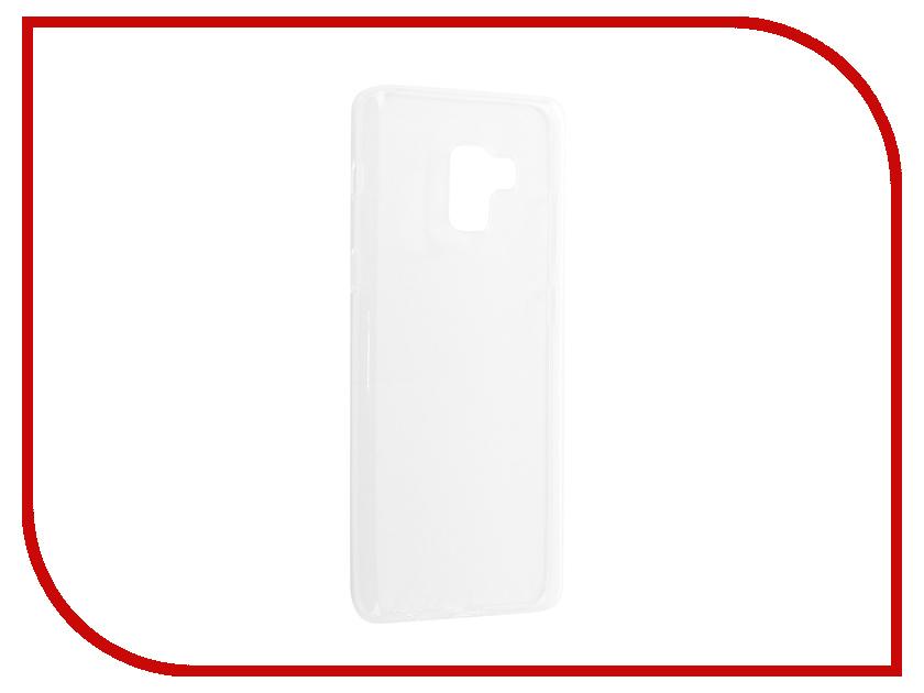 Аксессуар Чехол Samsung Galaxy A8 Plus 2018 Neypo Silicone Transparent NST3506 аксессуар чехол samsung galaxy a7 2017 with love moscow silicone russia 5090