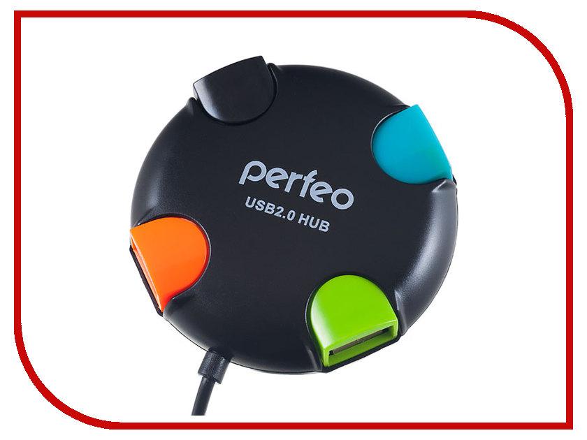 Хаб USB Perfeo PF-VI-H020 Black
