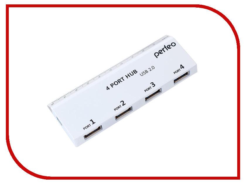 Хаб USB Perfeo PF-VI-H026 White flash mp3 плеер perfeo music clip titanium vi m001 4gb blue