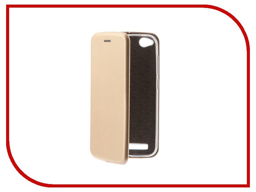 Аксессуар Чехол для Xiaomi Redmi 5A Neypo Supreme Gold NSB3512 аксессуар чехол для xiaomi redmi 5a neypo soft touch с перфорацией gold st4568