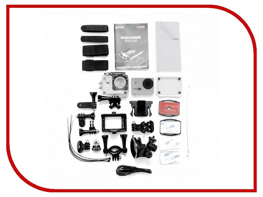 Экшн-камера Gmini MagicEye HDS4100 Silver экшн камера gmini magiceye hds5100 черный