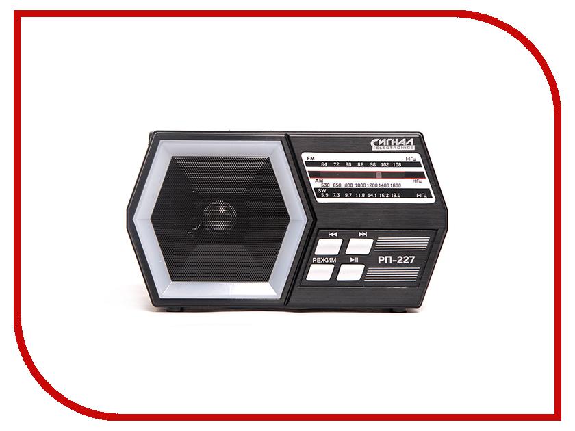 Радиоприемник Сигнал electronics РП-227 радиоприемник сигнал рп 229