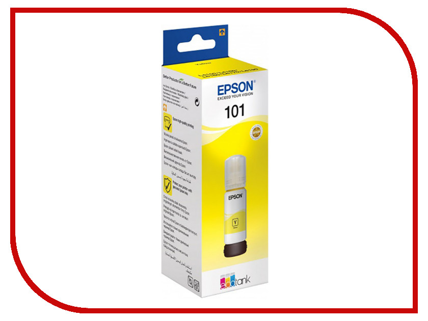 Тонер Epson 101 Yellow C13T03V44A для EcoTank L4160
