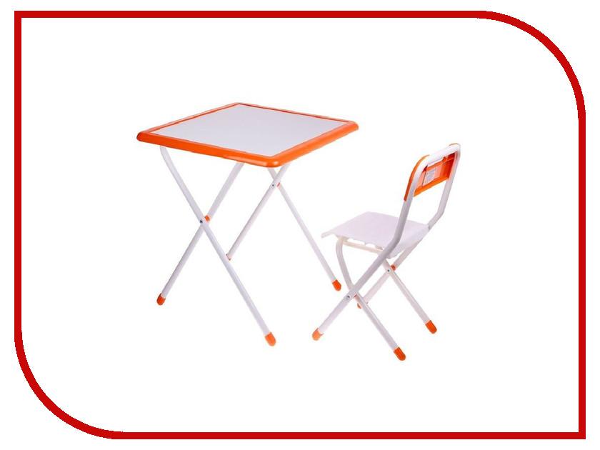 Набор детской мебели Дэми №3-06 White-Orange 2041885