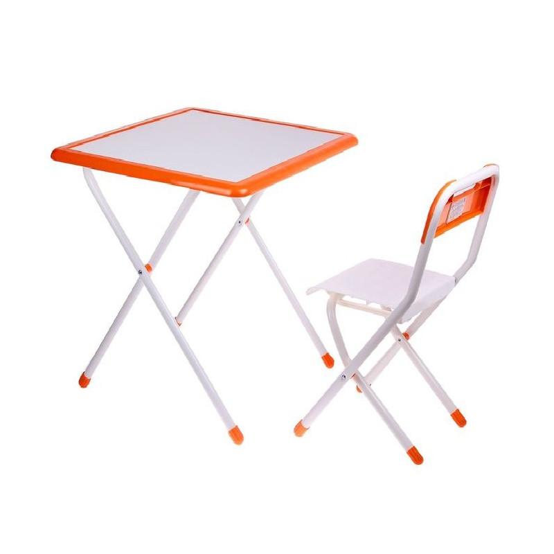 Набор детской мебели Дэми №3-06 White-Orange 2041885 набор мебели дэми овал веселая ферма роз