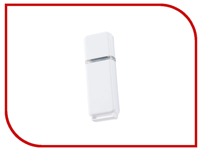 USB Flash Drive 8Gb - Perfeo C01 White PF-C01W008 usb flash drive 16gb perfeo c13 white pf c13w016