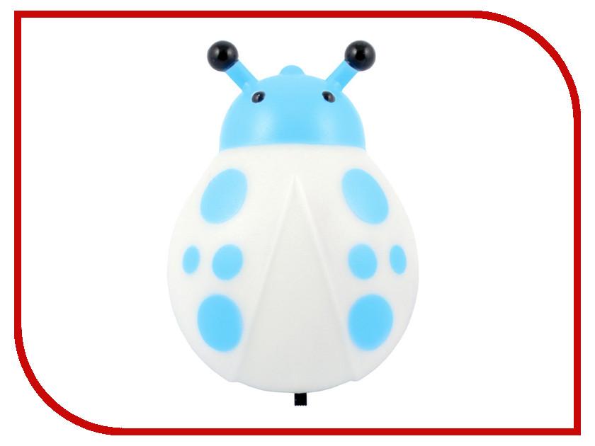 Светильник СТАРТ Жук 1Led Blue 8655