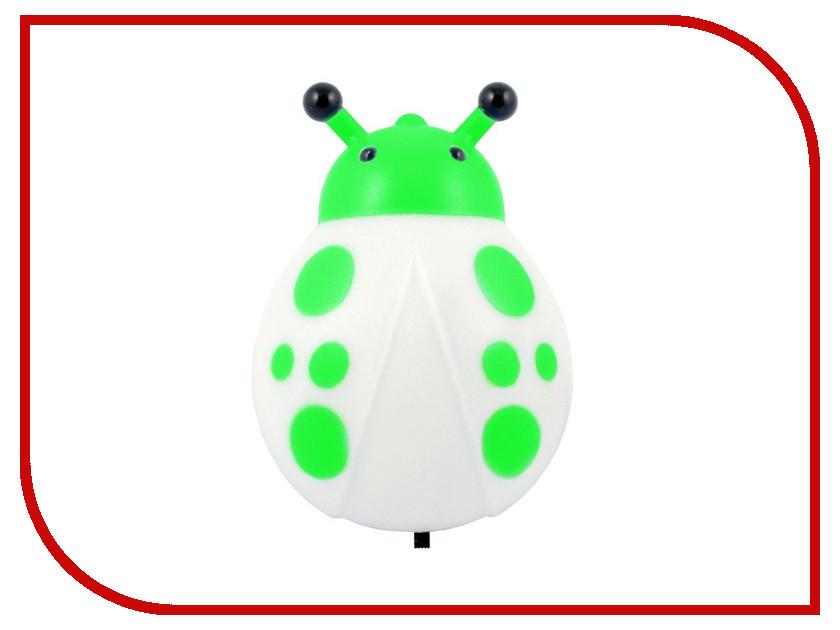 Светильник СТАРТ Жук 1Led Green 8664