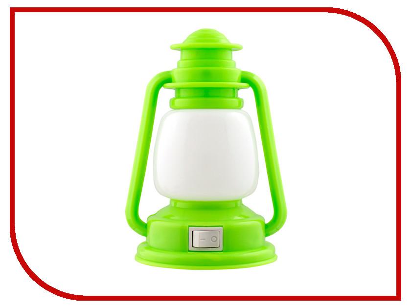 Светильник СТАРТ Лампа 1Led Green 11747