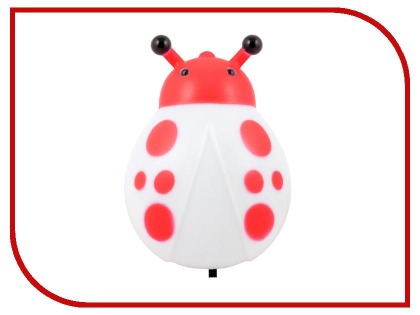 Светильник СТАРТ Жук 1Led Red 8665