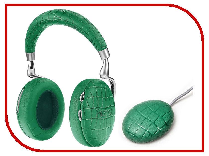 все цены на Parrot Zik 3 Green Croc + беспроводное зарядное устройство PF562124 онлайн