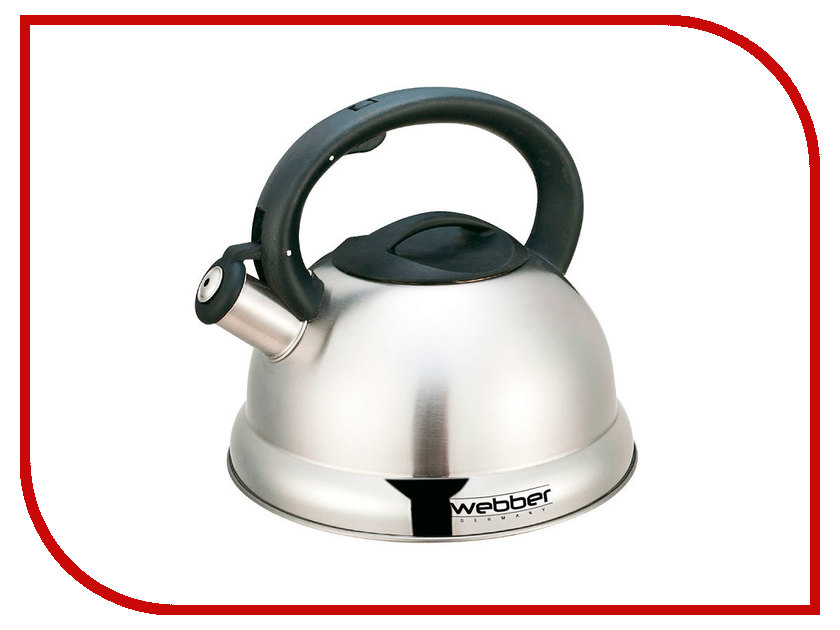 Чайник Webber 2.7L BE-0547 чайник заварочный webber be 5584 4 ромашки 800ml